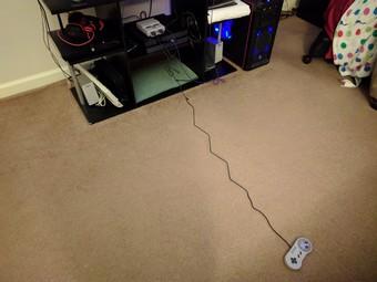 Controller more than 2 feet long!